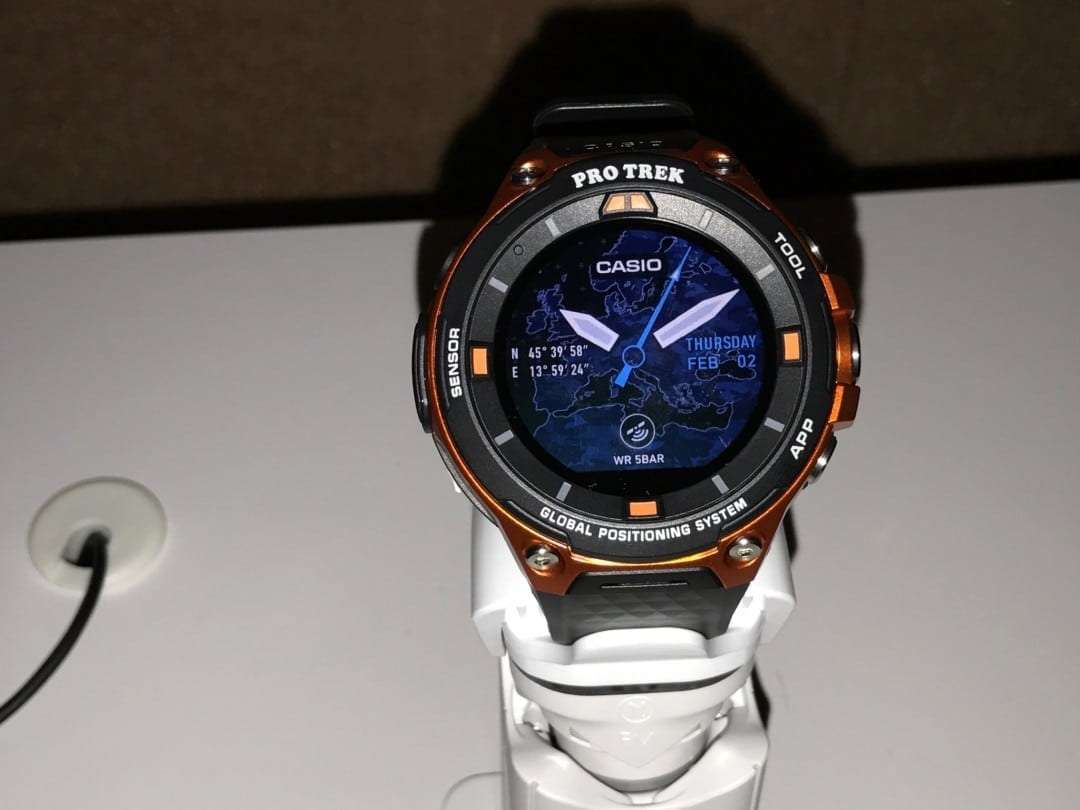 Casio Press Event: Introducing the Pro Trek WSD-F20