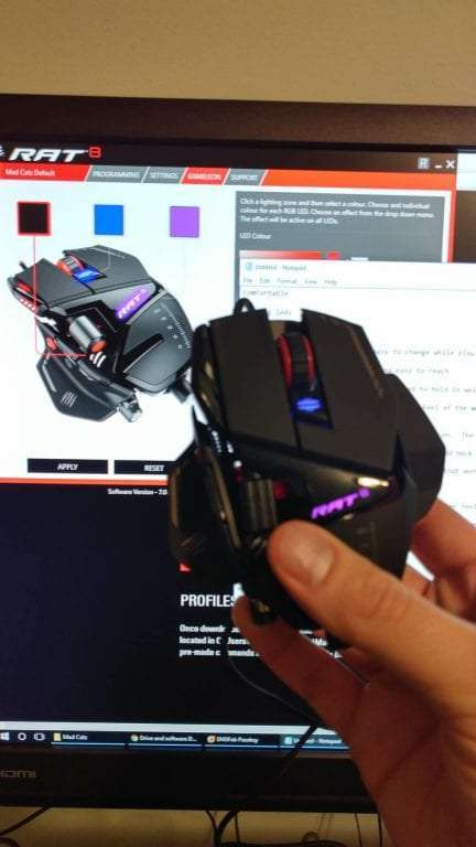 Mad Catz RAT8 Wired Gaming Mouse REVIEW