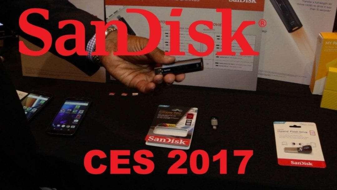 SanDisk CES 2017 Pepcom Interview