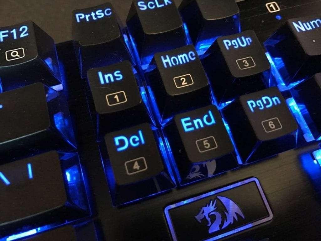 Redragon K556 RGB LED Backlit Mechanical Keyboard
