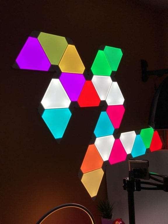 Home Design Layout App Nanoleaf Aurora Smart Lighting Review The Most Innovating