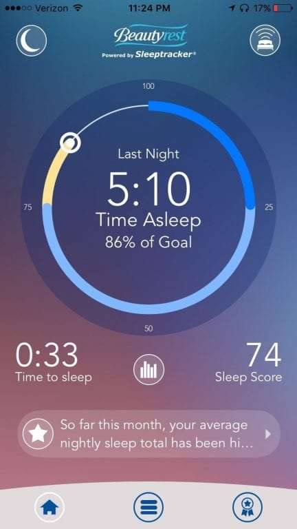 Beautyrest Sleeptracker Monitor