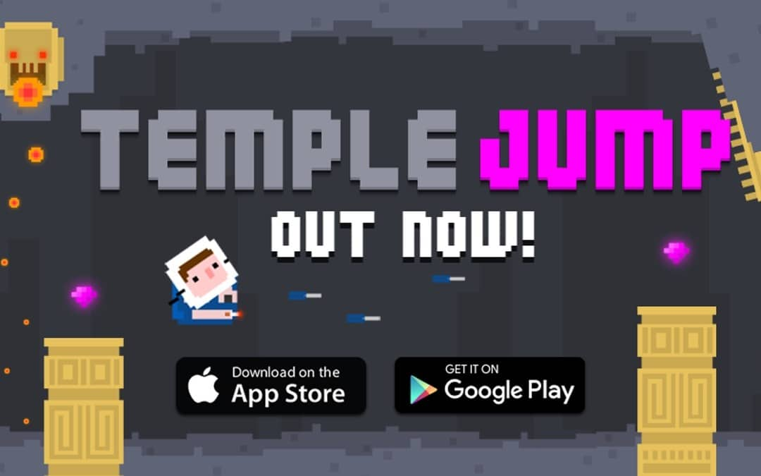 Temple Jump iOS Game REVIEW