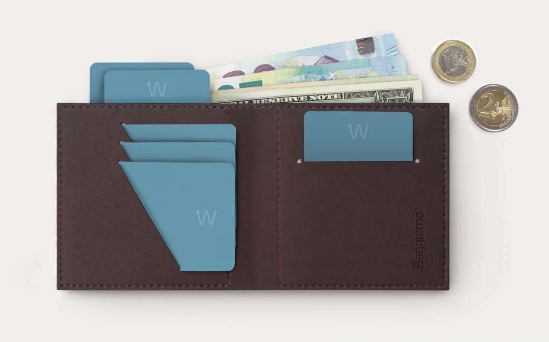 Baggizmo Wiseward Launches World's Smartest Wallet NEWS