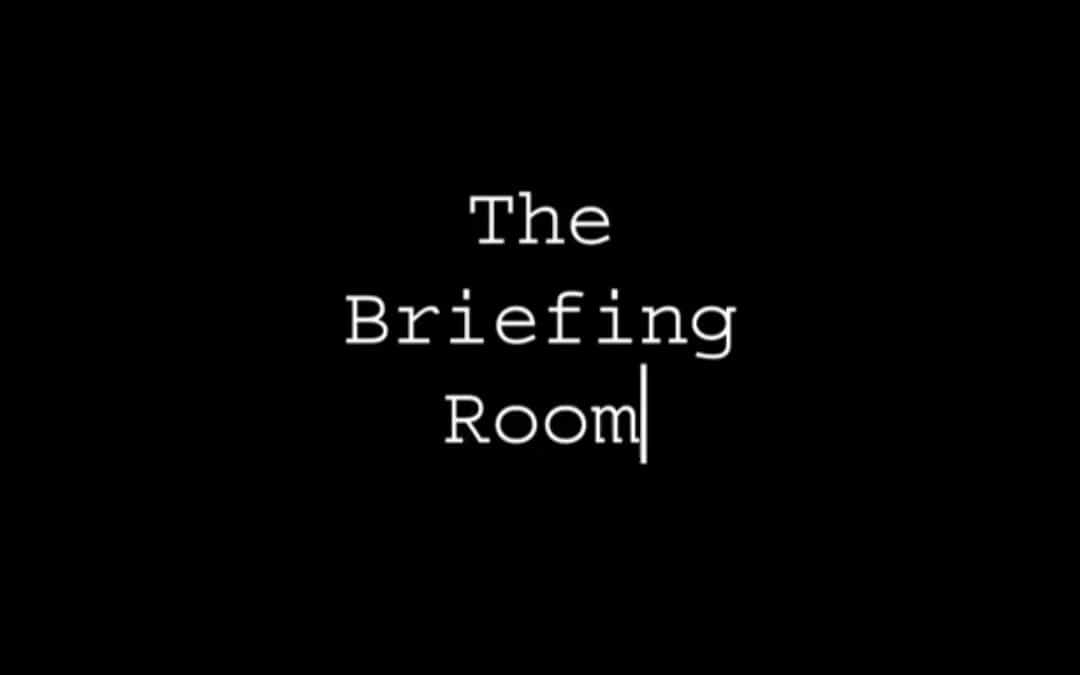 The Briefing Room iOS App REVIEW