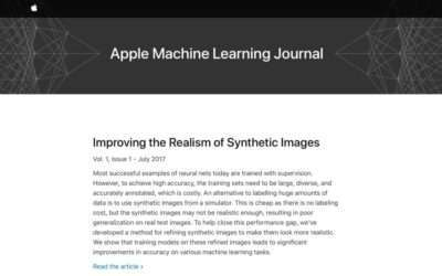 Machine Learning Journal Launched by Apple NEWS