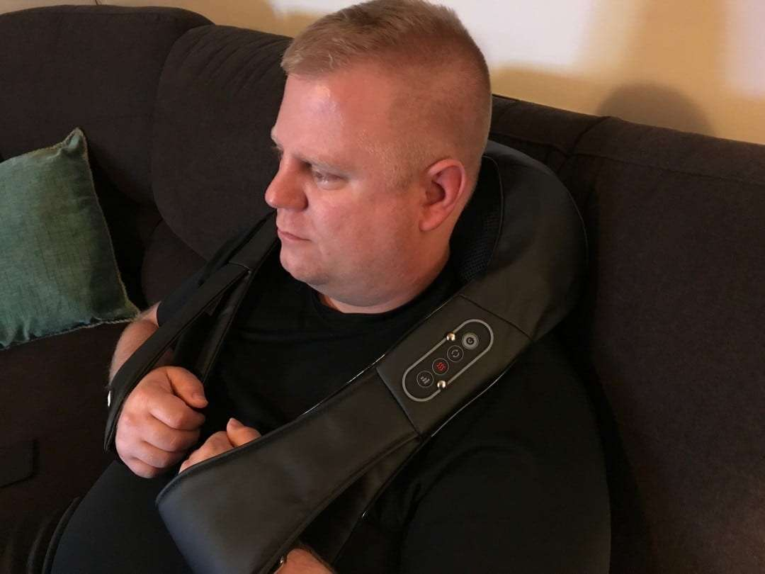 NAIPO Shoulder and Neck Massager REVIEW