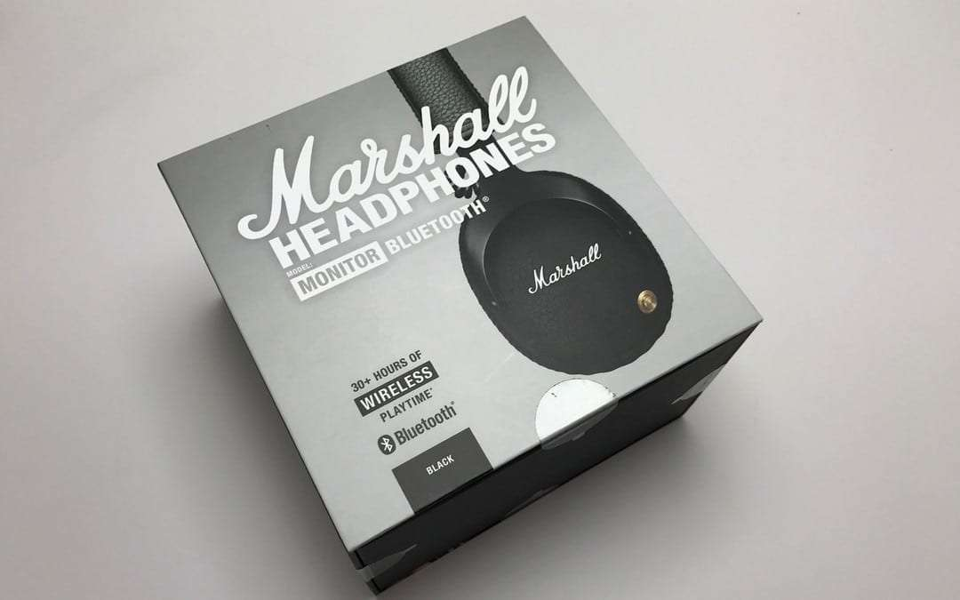 Marshall Monitor Bluetooth Wireless Over-Ear Headphones REVIEW