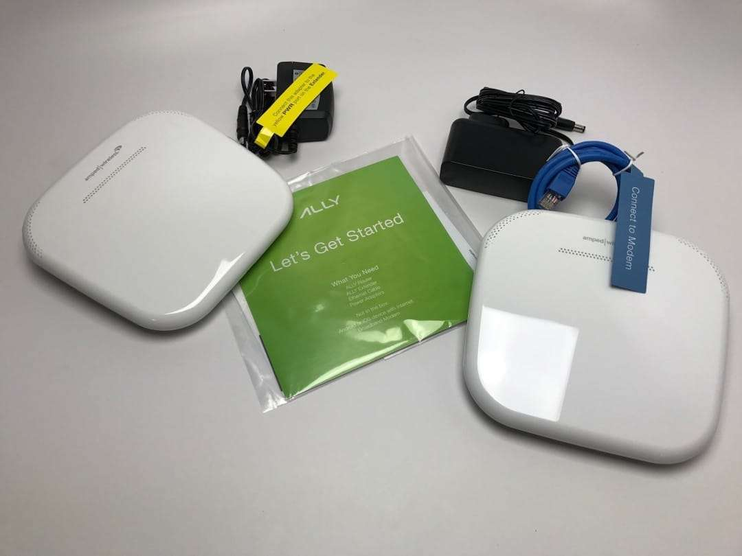Ally Plus Amped Wireless Home Smart Wi-Fi Router and Extender REVIEW