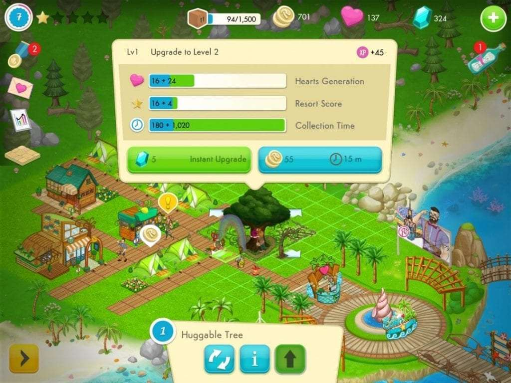 Eden Isle: Island Paradise iOS Game REVIEW