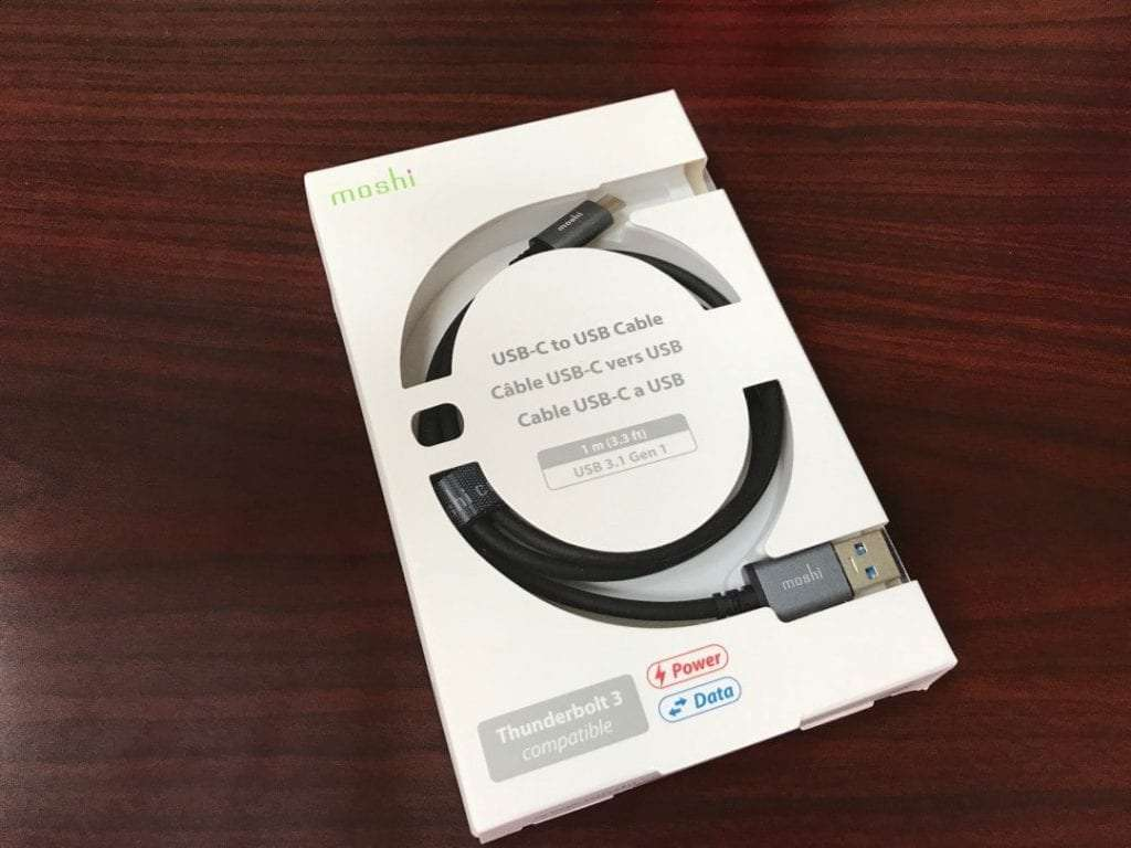 Moshi USB-C to USB Cable REVIEW