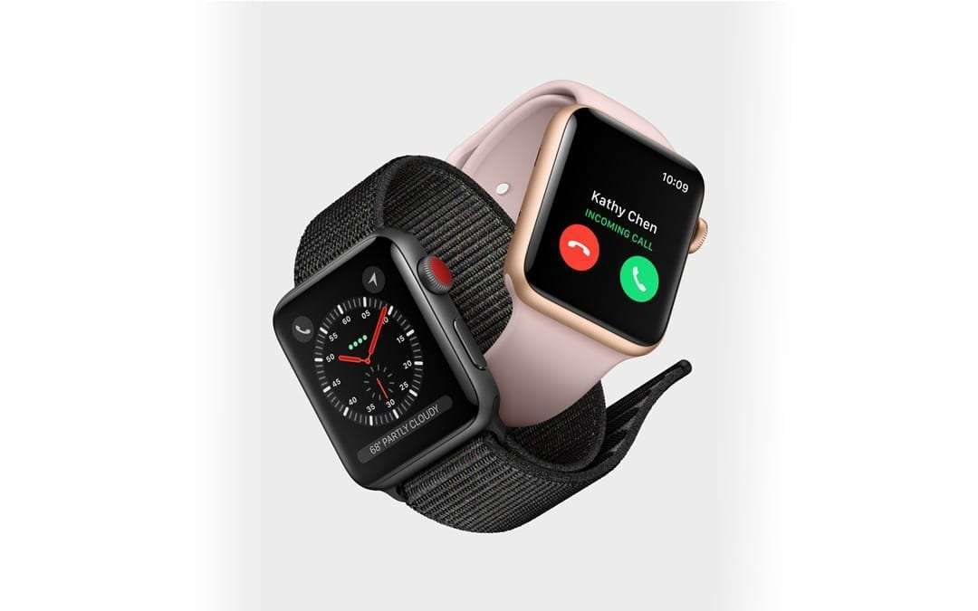 Apple Announces Apple Watch Series 3 NEWS