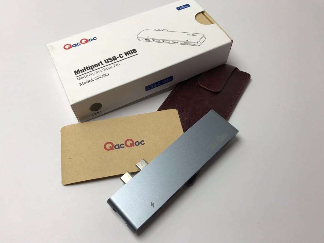QacQoc Multiport USB-C Hub REVIEW