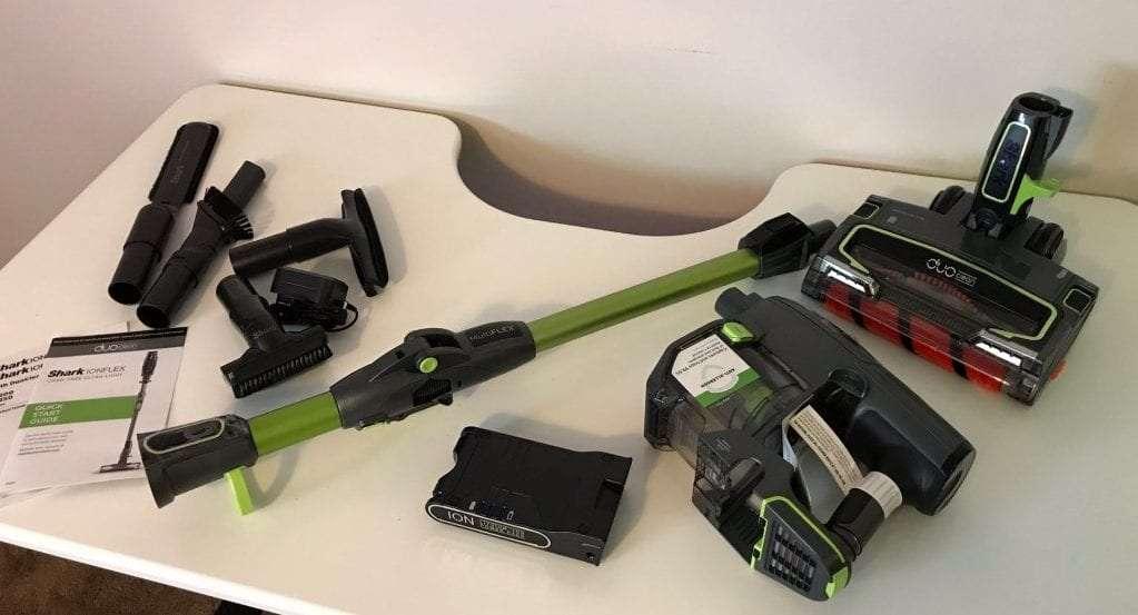 Shark Ionflex Duoclean If201 Bagless Cordless Stick Vacuum