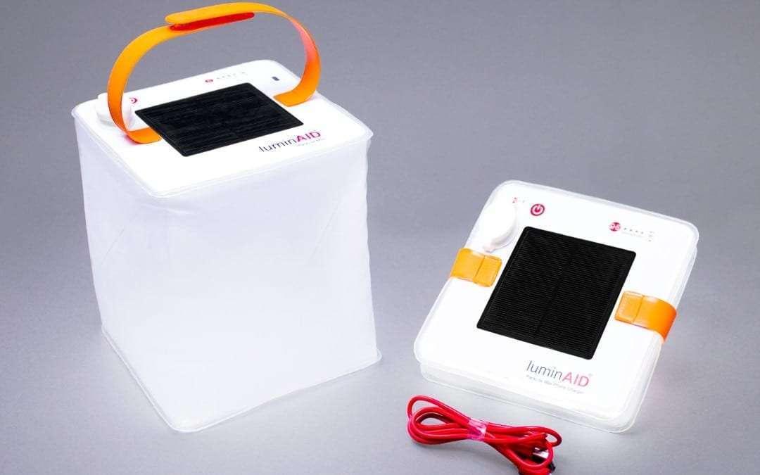 "LuminAID PackLite Max Solar Phone Charger: The Next ""Bright Idea"" at a convenient time"