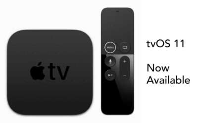 tvOS 11 Now Available from Apple NEWS