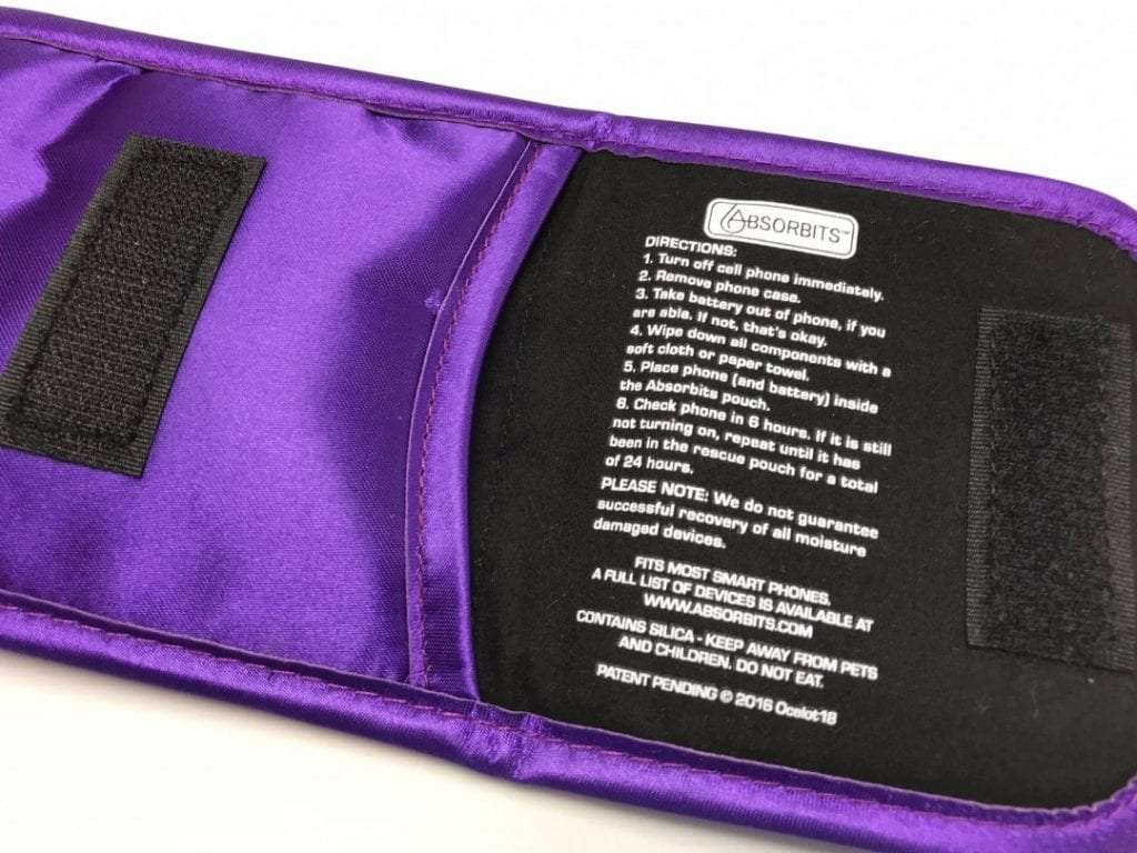 Absorbits Wet Phone Rescue Pouch REVIEW
