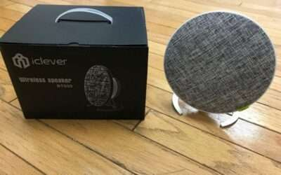 iClever BTS09 Bluetooth Speaker REVIEW New model, classier look.