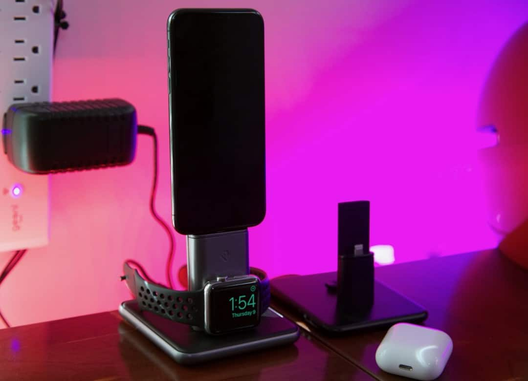 HiRise Duet iPhone & Apple Watch Charging Stand REVIEW