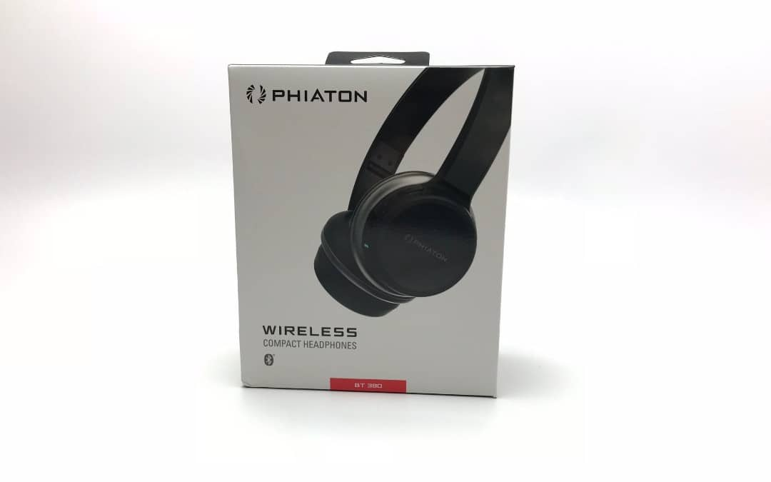 PHIATON BT390 Bluetooth Wireless Compact Headphones (Black) REVIEW