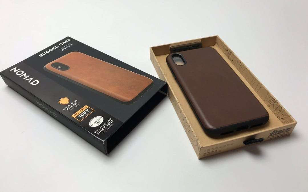 Nomad Leather Rugged Case For Iphone X Review Mac Sources
