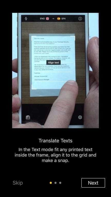 Snap and Translate iOS App REVIEW