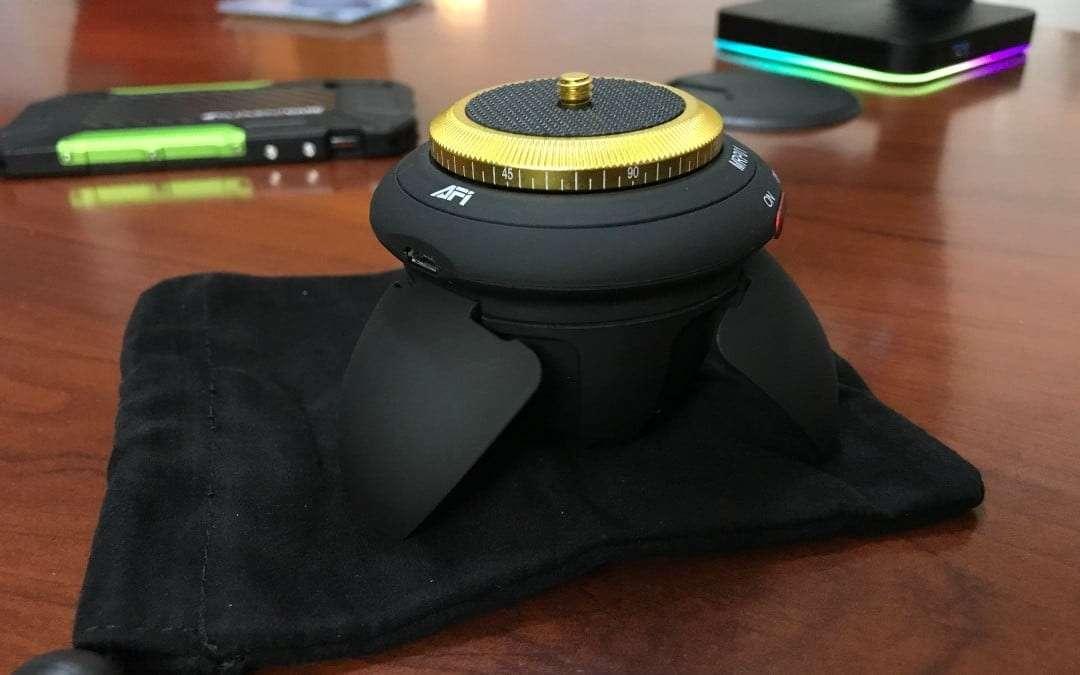 Kamisafe MRP01 Mini Electric Panorama Tripod Head REVIEW
