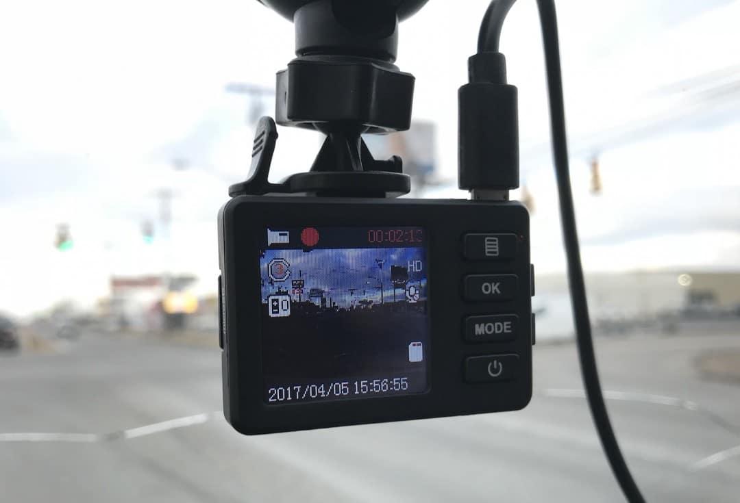Conbrov T17 Worlds Smallest Dash Cam REVIEW