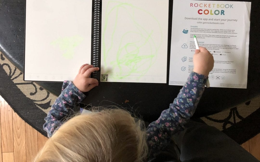 Rocketbook Color Cloud-Connected Notebook REVIEW Keep Your Kids Occupied