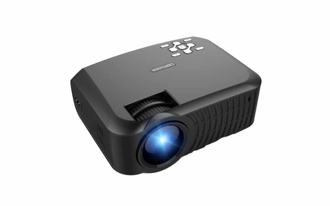 DBPOWER T22 Mini Portable Projector Promotion