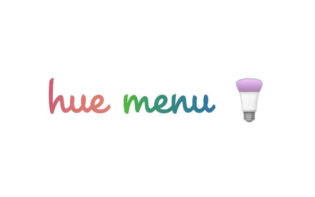 HueMenu 3 Mac App REVIEW