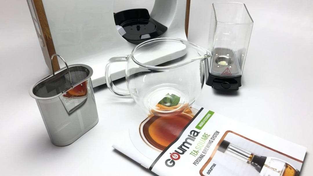 Gourmia Fusion Tea Loose Leaf Tea Maker REVIEW