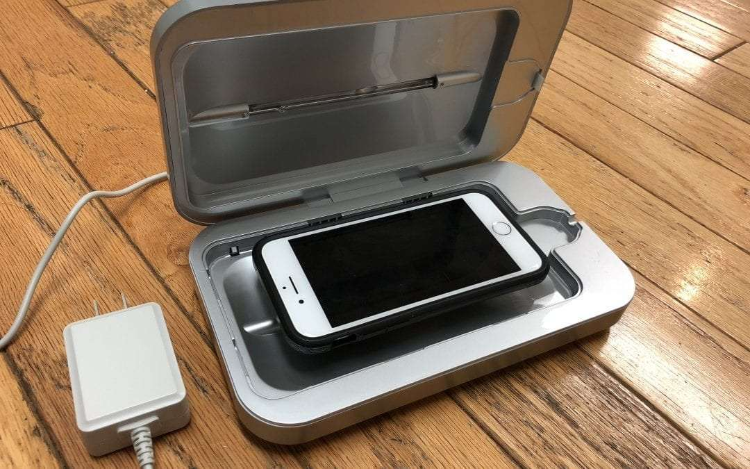 PHONESOAP 3.0 REVIEW UV clean your disgusting smartphone  Mac Sources