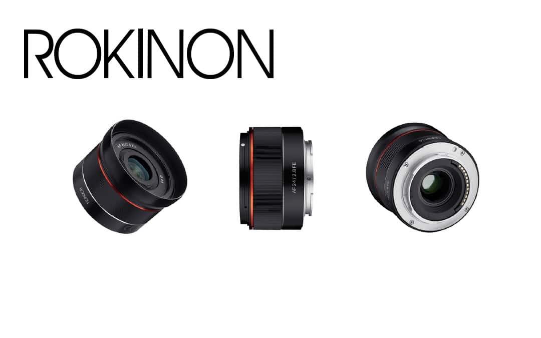 Rokinon Announces New AF 24mm f2.8 Full Frame Lens for Sony E NEWS