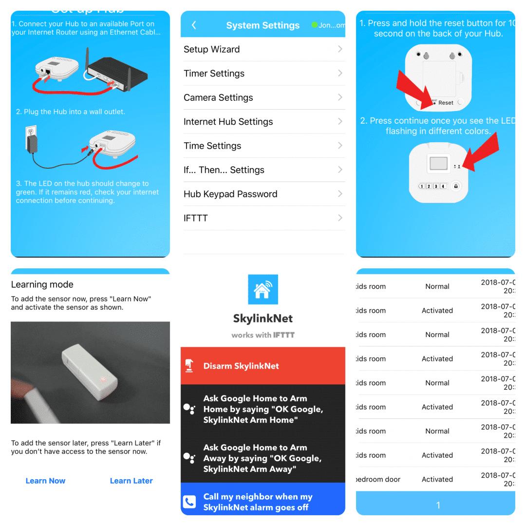Skylink Home App iOS