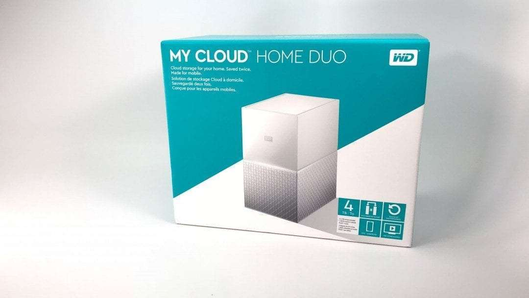 Western digital my cloud home