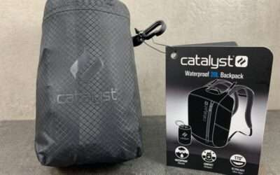 Catalyst Waterproof Backpack REVIEW Perfect Stocking Stuffer