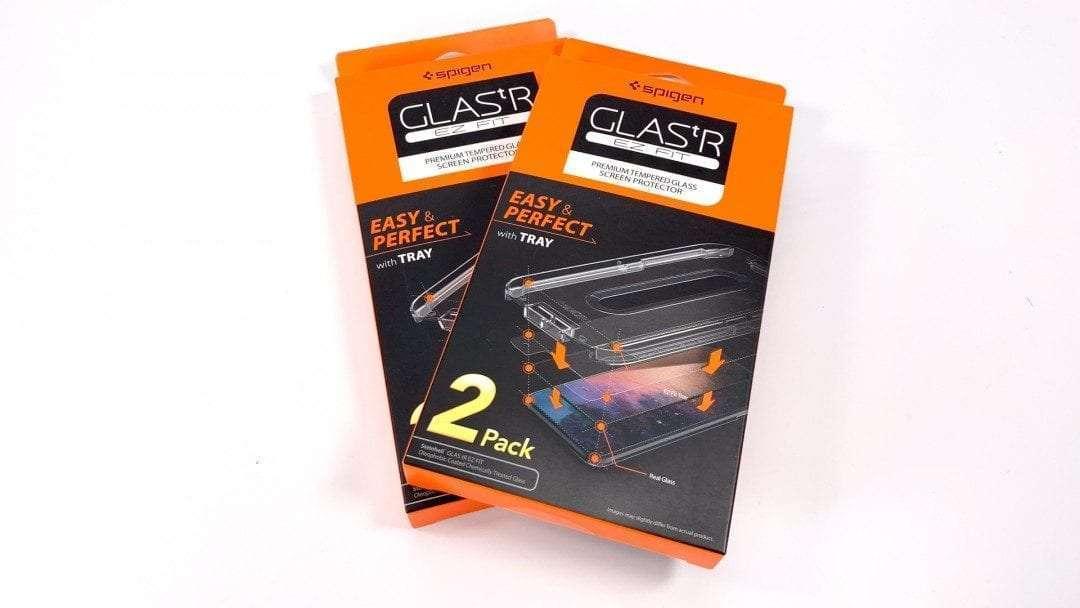 Spigen GLAS.tR EZ Fit Screen Protector REVIEW