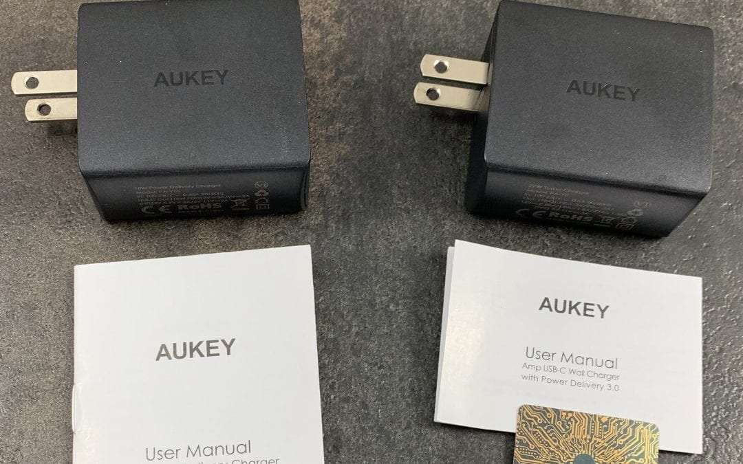 AUKEY USB-C Chargers REVIEW Petite and Powerful
