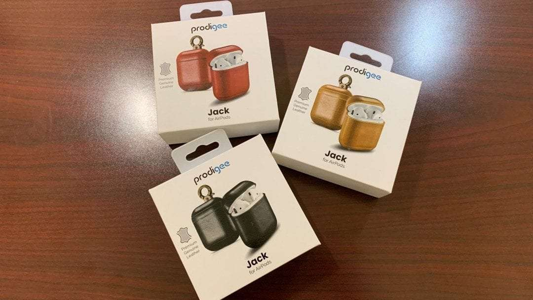 Prodigee Jack Leather Case for AirPods REVIEW
