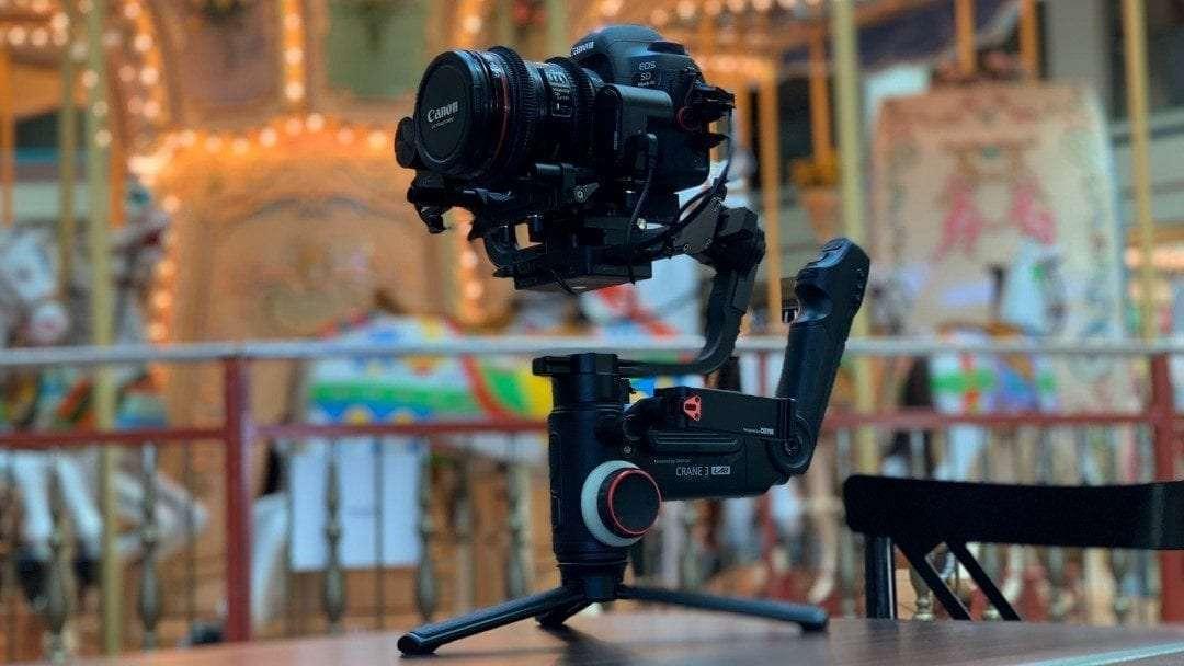 Zhiyun Crane 3 Lab DSLR Camera Gimbal REVIEW A Magical Device for Videographers